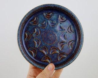 Mid-century Danish Søholm Soholm Bornholm Denmark Stoneware Dish Handmade