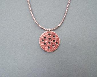 Ceramic Jewelry, Ceramic Necklace, Women's Jewelry, Leather Jewelry