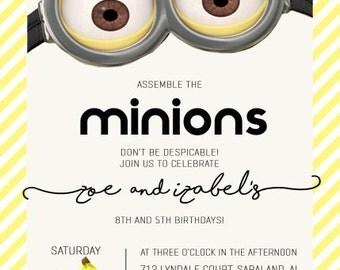 Minions Invitation