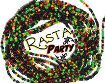 Rasta Party~ENDOFSTOCK ~ American Waist Beads