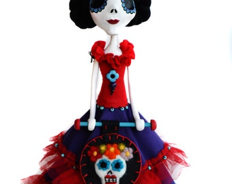 Frida - Frida Art Doll - Frida Kahlo - Day of the Dead