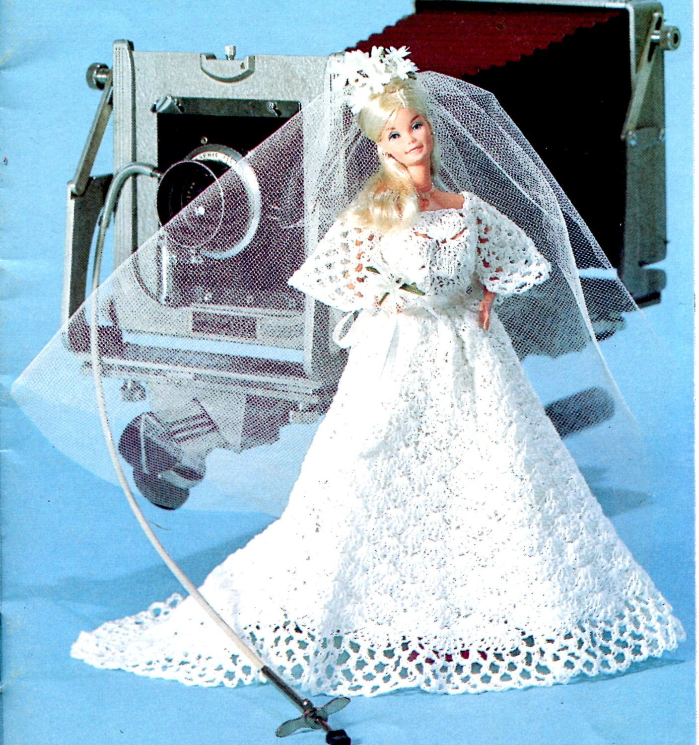 Barbie Wedding Gown Crochet Pattern Instant Download PDF
