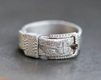 Belt Buckle for your Finger - Ring Size 6.5