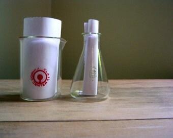 Vintage Glass Lab Equipment