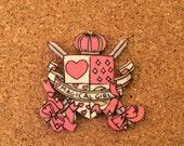 magical girl pink Brooch