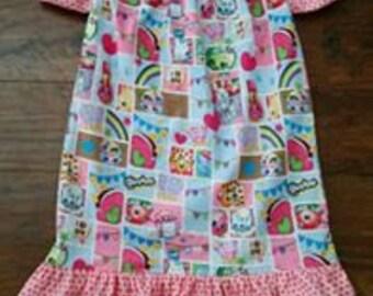 Harper Peasant Dress