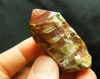 Quartz w/ Amphibole, Angle Phantom Crystal