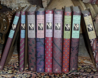 Sherlock Holmes 1994 Book of the Month Complete Set of Nine Sir Arthur Conan Doyle