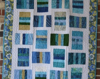 """Baby's First Quilt """"Water Colors"""""""