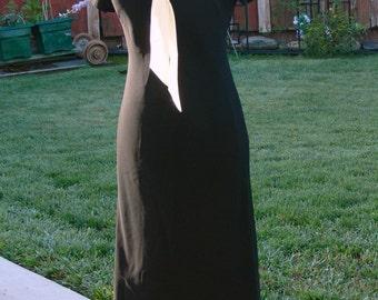 jones new york white and black  dress size 8
