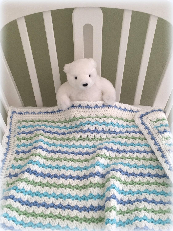 Crochet Baby Blanket Pattern Baby Blanket Pattern EASY