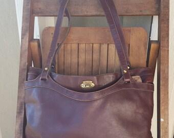ETIENNE     ///     Oxblood Leather Bag