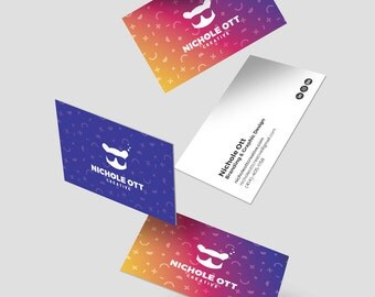 Professional Business Card Custom Design Made to Order: Let Your Brand Identity Do the Talking!