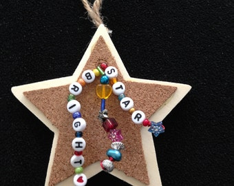 Bright Star Christmas Ornament
