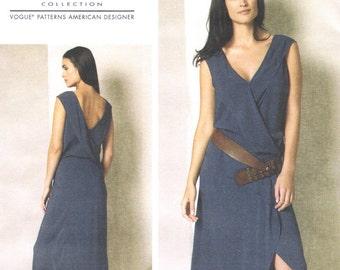 NEW Donna Karan wrap dress pattern -- Vogue American Designer 1489