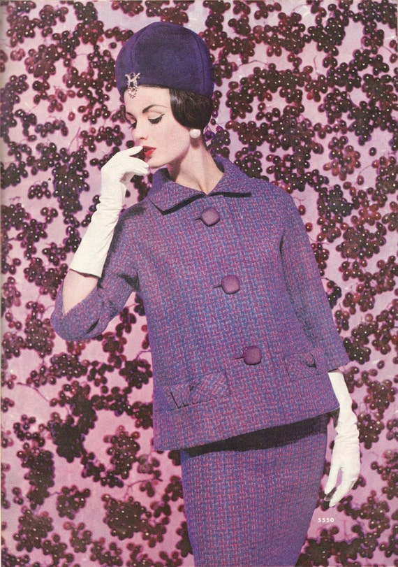 Dorothea McGowan in McCall's 5550 by Pierre Cardin, 1960