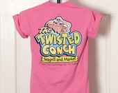 90s Pink Tshirt - The Twisted Conch  - S