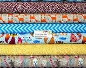 Nordic Woodland Bundle - 8 Fabrics Total