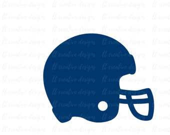 Football Helmet SVG, Football SVG, Helmet SVG, Football Cut Files, Cricut Cutting Files, Silhouette Cut Files, Svg Files