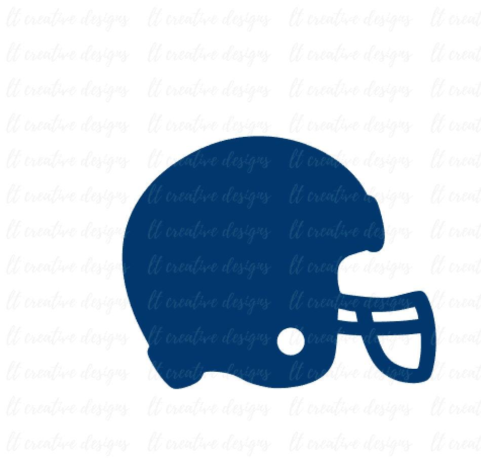 Football Helmet SVG Football SVG Helmet SVG Football Cut