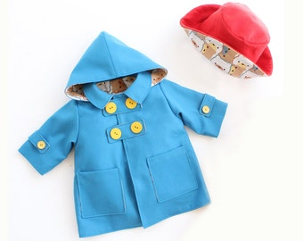 HEARTS HOODIE Children Baby Girl Boy Jacket pattern Pdf