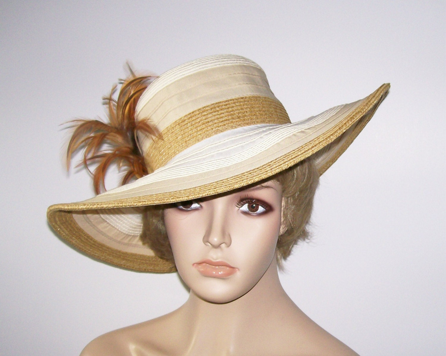 womens hat wide brim and white hat