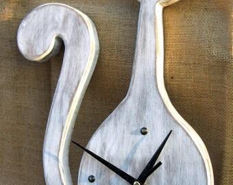 """Clock """"Long Cat"""""""