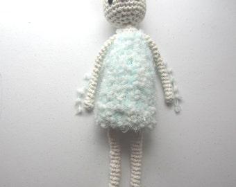 Fey the Fairy Bunny -- Cute, Kawaii, Amigurumi, Bunny, Doll, Crochet, Knit, Ready to Ship