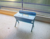 Vintage Dollhouse Furniture Dolly's Baby Changing Table and Bath Tub