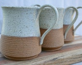 large rustic mug, tea mug, stoneware coffee cup, rustic pottery, stoneware cups, kitchen and home, minimalist pottery