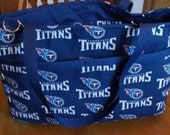 Sports Diaper bag,Tennessee Titans diaper bag,Patriots bag Celtics diaper bag, made to order, you choose team or character,Unisex sports bag