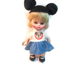 Vintage Mouseketeer Doll 1971 Horsman Disney Mickey Mouse Club
