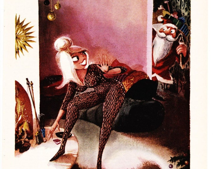 Vintage Original Magazine Print Art 1966