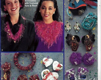 Yarn Accessories Jewelry & Scarves From Suzanne McNeill Design Originals No. 2142