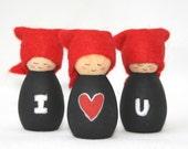 Cornish Pixie Elves I Love You