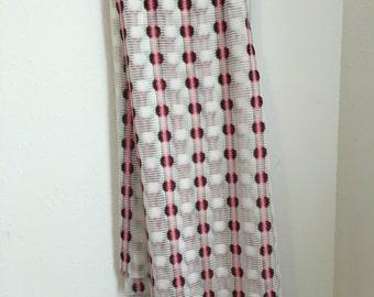 Vintage Curtain Fabric, Vintage Net Curtain Fabric, Mesh Curtain Fabric, White Mesh Curtain, Pink Black Curtain, Sheer Curtain