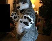 wolf full fursuit SALE!