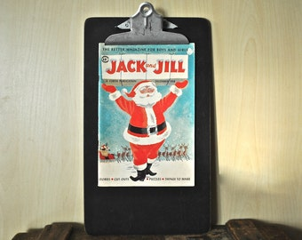 Mid-Century Holiday Magazine  | 1958 Vintage Jack and Jill Magazine