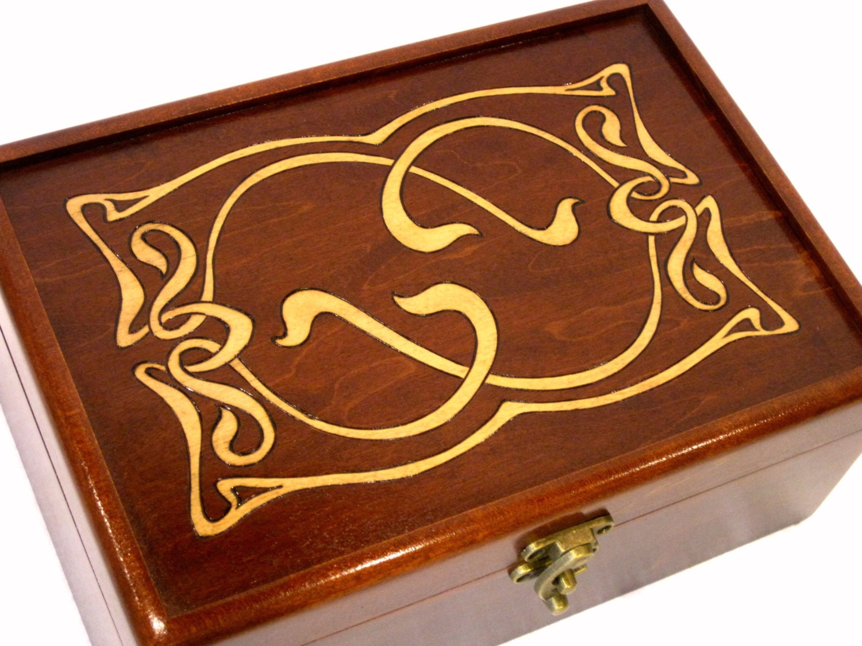 Elven Jewelry Box Wedding Card Box Guest Book Alternative – Wedding Card Box Alternatives