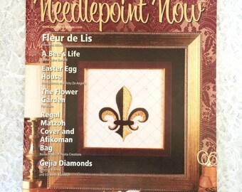 Needlepoint Patterns, Needlepoint Now Magazine, March April 2012