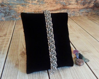Vipera Berus Chainmaille Bracelet (Small)