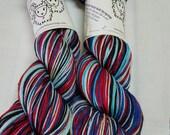 Saturated Sock Selfstriping  Happy Life