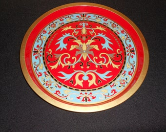 Metal Tray -- Made in London -- The Metal Tray Manufacturing Company London -- 1975