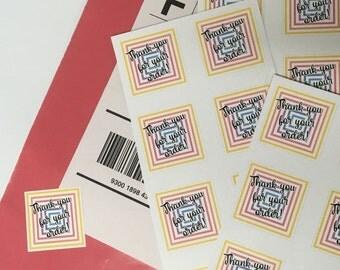 LuLaRoe Thank You For Your Order Labels, LLR Stickers, LLR Thank You Stickers, LLR Thank You Decals