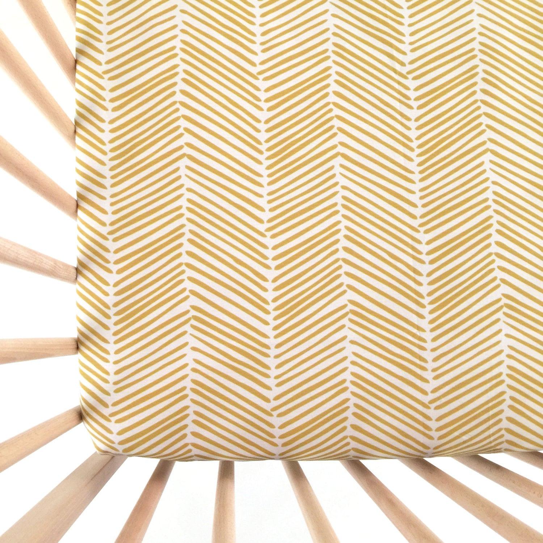 crib sheet flax freeform arrows fitted crib sheet baby. Black Bedroom Furniture Sets. Home Design Ideas