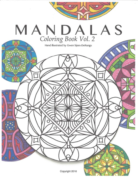 Mandalas Coloring Book Vol 2