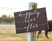 Happily Ever After Sign, Wedding Car Sign, and they lived happily ever after, Just Married Sign, Flower Girl Sign, Ring Bearer sign, banner