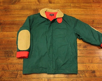 GANT Winter jacket forest green outdoors coat preppy mens small