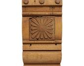 Antique Victorian Wood Plinth Block