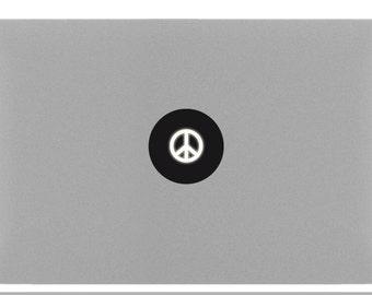 PEACE & LOVE Macbook Sticker Decal